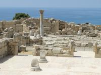 In der antiken Stadt Kourion