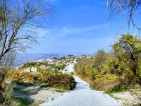 258 Blick auf das Dorf Pano Panagia
