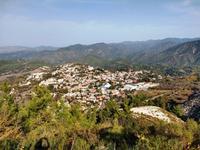 261 Blick auf das Dorf Pano Panagia