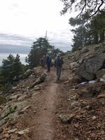 Wanderung unterhalb des Olympos