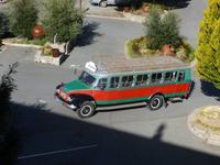 Bedfordbus - unser Bus am dritten Tag