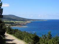Küste Akamas Halbinsel