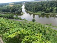 Elbe mit Moldaukanal