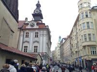 das jüdische Rathaus und die Synagoge