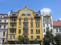Prag, am Wenzelsplatz