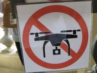 Drohnen verboten!