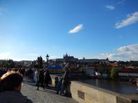 Ein solches Prachtwetter wurde uns leider nur an unserem ersten Tag in Prag zuteil.