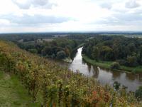 Bei Melnik mündet auch die Moldau in die Elbe (Labe).
