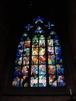 Prag - Schmuckfenster im St. Veits Dom