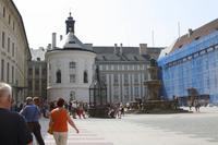 Zweiter Innenhof der Prager Burg