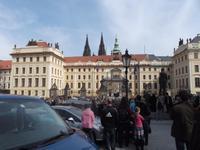 Eingangsfront Prager Burg