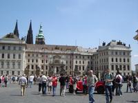 das Areal der Prager Burg