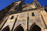 Prag - Veitsdom Goldene Pforte