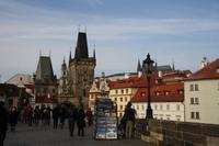 Beim Stadtspaziergang in Prag
