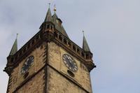 Der Turmbläser in Prag
