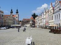 Telc, Markt und Schloss