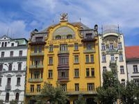Jugendstilgebäude am Wenzelsplatz
