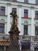 Liberec - Neptunbrunnen am Markt