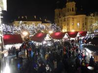Weihnachtsmarkt in Prag auf dem Altstädter Ring
