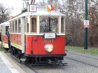 Stadtrundfahrt mit der historischen Straßenbahn
