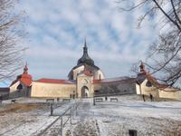 UNESCO-Weltkulturerbe: Wallfahrtskirche des Heiligen Nepomuk in Žd'ár nad Sázavou
