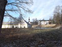 das alte Kloster und spätere Schloss in Žd'ár nad Sázavou