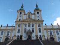 barocke Wallfahrtskirche auf dem