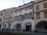 am Marktplatz von Kromeriž