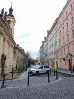 Bunte Fassaden in der Prager Altstadt