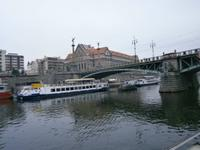 Schiffsanlegestelle unterhalb der Czechuv Most