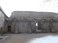 Ruine des Klosters Memleben