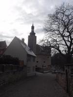 Blick zur Burg Querfurt von der Stadt her