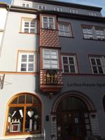 Erker an Patrizierhaus in Naumburg