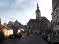 Marktplatz Naumburg mit Wenzelskirche