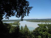 Salzachmündung zwischen Burghausen und Braunau