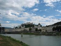 Blick auf Salzburgs Altstadt