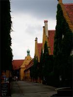 In der Augsburger Fuggerei