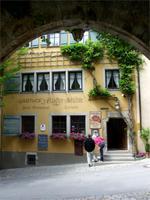 Verwunschener Durchblick in Rothenburg