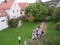 Im Stadtgraben von Wemding