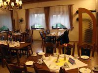 Der Frühstückstisch ist gedeckt, es gab jeden Morgen ein herrliches Buffet mit leckeren Köstlichkeiten