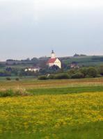 Die Wallfahrtskirche Maria Brünnlein bei Wemding