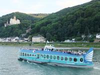 Auf dem Rhein unterwegs