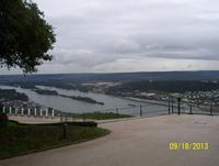 Blick vom Niederwalddenkmal