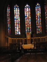 Fenster in der Kirch Notre Dame