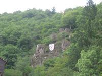 Eifelrundfahrt, Wappen von Neuerburg am Fels
