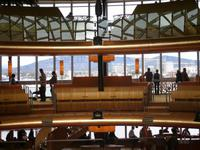 Blick vom Theatrium auf Kopenhagen beim Anlegen