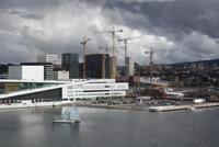 Einfahrt in Oslo