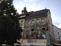 vorm Rathaus in Konstanz