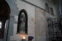 Wandmalereien in der Marienmünster auf der Reichenau (Nordseite) - mit kleinen TEufelchen