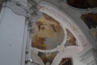 Deckenszene, Kanonissenstift Lindau